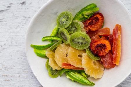 frutas secas: Los frutos secos fondo de cocci�n, vista desde arriba