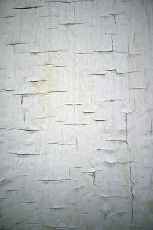 cracky: Vertical cracky white colored surface background Stock Photo