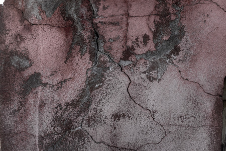 cracky: Painted and cracky concrete surface background, closeup shot