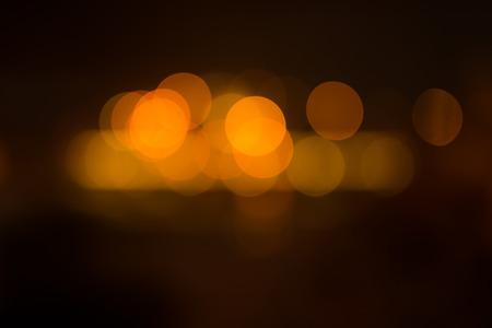 de focused: Bokeh background of de focused lights in the dusk Stock Photo
