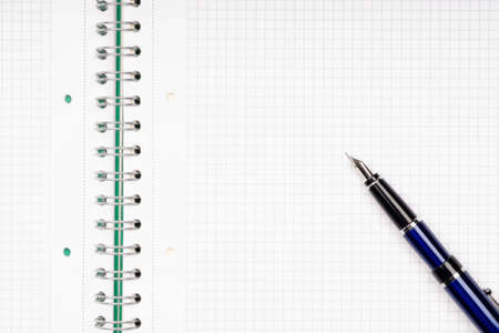 close up of notebook and pencil Stock Photo - 5233394