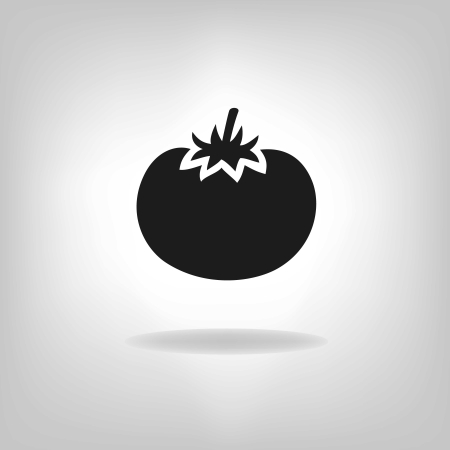 Tomato Icon Vector illustration Vector