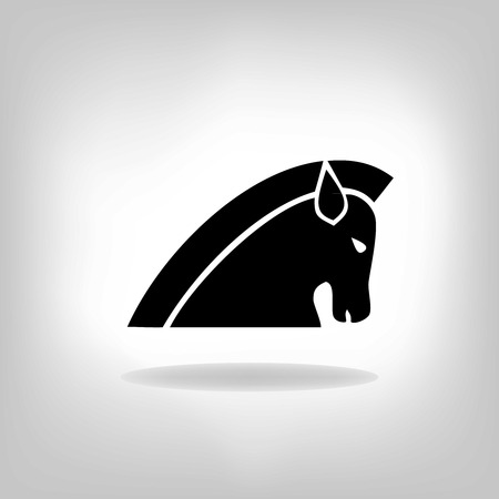 steed: image of a horse Illustration
