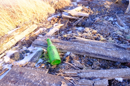 old green bottle