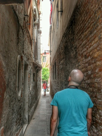 hope: In Venice Stock Photo