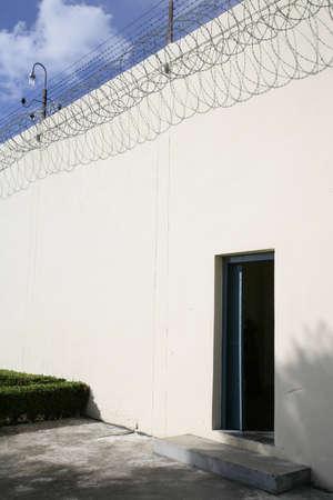 incarcerate: prison door