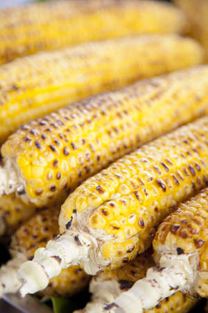 roast corn photo