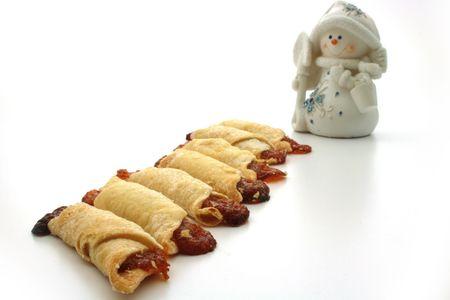 cooky: Cooky, snowmen