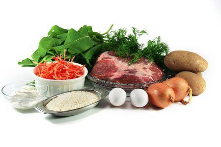 ingredient: Green borsch - ingredient Stock Photo