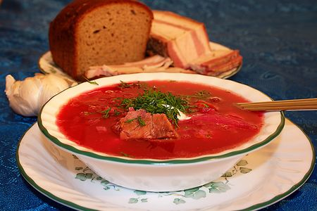 central european: Borscht is a soup that is popular in many Eastern and Central European countries.