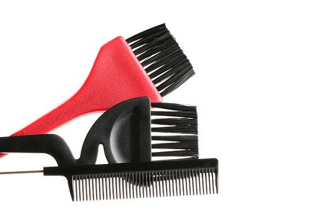 Set for the master who works in salon or a hairdressing salon. Фото со стока - 6049220