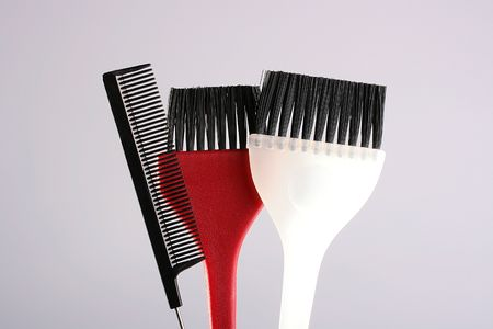 Set for the master who works in salon or a hairdressing salon. Фото со стока
