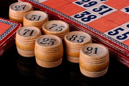 Subjects for game in a lotto, the American variant of the name - bingo. Imagens