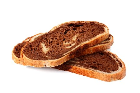 unleavened: Unleavened bread slice consisting of two grades of a flour: wheaten and rye.
