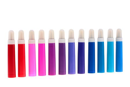 Set of felt-tip pens of different colours for work and children's creativity. Stock Photo - 6430322
