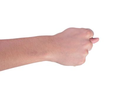 Hand fingers are combined in an obscene kind used by some nations of the world. Фото со стока