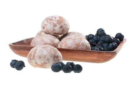 spicecake: Pasteles de la especia con adici�n de miel, est� cubierto por glaseado dulce.