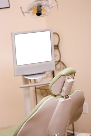 Close-up of a dentist chair in a dental clinic. Stock Photo - 7671286