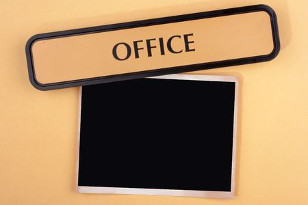 Subjects connected and illustrating office work.
