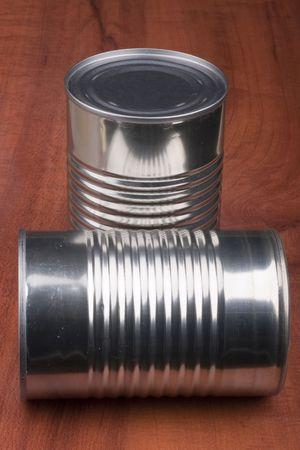 Private food uonteyner metal for long term storage. Stock Photo - 8075361