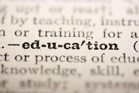 최대 가까이 오래 된 사전에서 단어 교육.