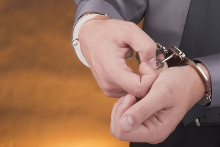 arrestment: Arrested removes the handcuffs with a key.