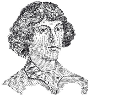 astronomer: image of Nicolaus Copernicus. Copernicus was a Renaissance Astronomer.