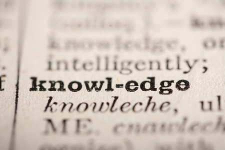 pronounce: Word knowledge from the old dictionary, a close up.