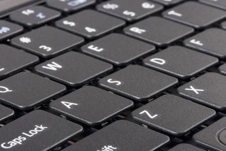 teclado: El teclado de una computadora personal port�til.