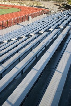 Lege visuele ruimte in de sportarena van het stadion.