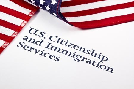 Foto eines US-Department of Homeland Security Logo. Standard-Bild