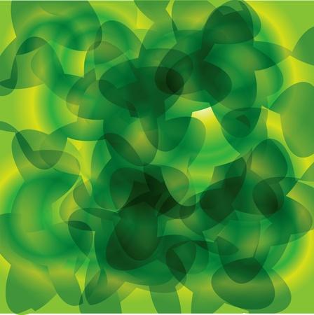 빛 녹색 추상적 인 배경을 자연에서 나뭇잎 모방. 일러스트