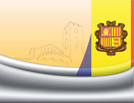 Creative for the design development background Andorra. Stock Vector - 12813257