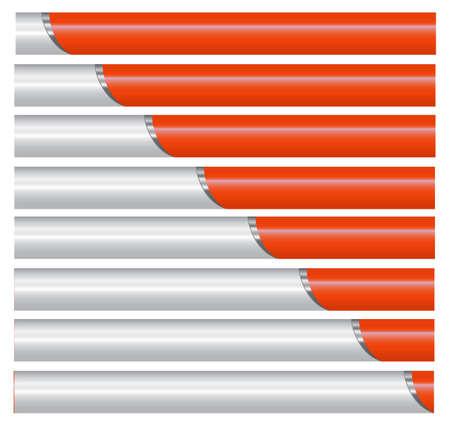 The motion of the cylinder in a silver orange pocket (the tube) Illusztráció