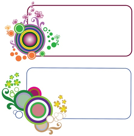 message vector: Abstract background for the message. Vector illustration. Illustration