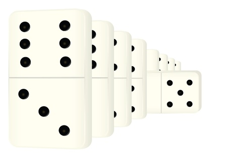 domino tiles are going into the future.