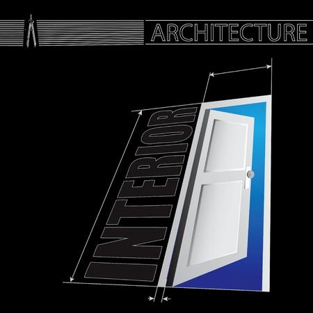 La porta verso l'interno. Archivio Fotografico - 13903549