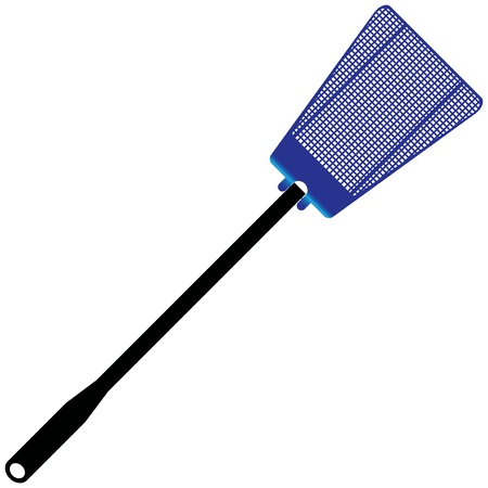 Plastic fly swatter to kill insects. Stock fotó - 13984996