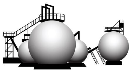 reviser: La transformation industrielle d'un r�servoir de stockage.