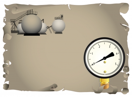 Background on gas processing industry.  Ilustrace