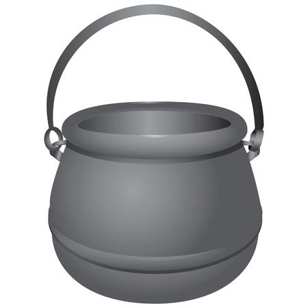 kettles: Caldera de agua con la oportunidad de colgar sobre un fuego abierto.
