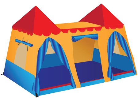 tabernacle: Fantasy Palace game stalls for children.