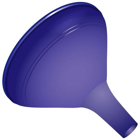 filler: Un embudo de pl�stico para uso dom�stico - Equipo de Laboratorio