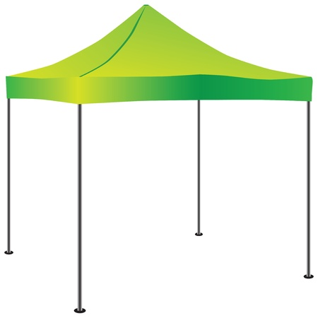Tent for use in commercial activities