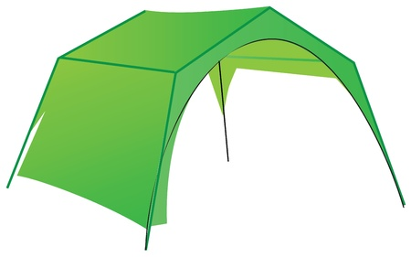 penthouse: Tent for commercial use in the mini market
