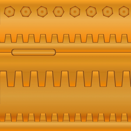 mechanization: Abstract background of industrial parts. Gears