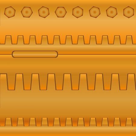 Fondo abstracto de piezas industriales. Engranajes Foto de archivo - 15449397