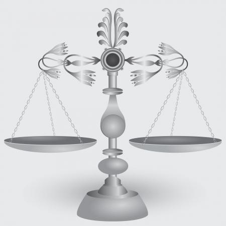 jurisprudencia: Escalas de boticario del vintage, s�mbolo de la jurisprudencia.