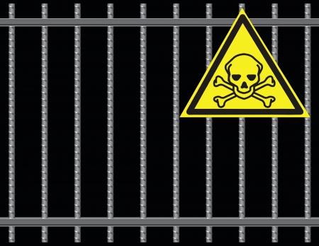 rekolekcje: Stal zbrojeniowa pręty gril, substancesl toksyczne. ilustracji.