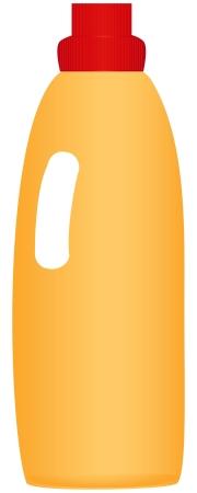 crisper: Plastic bottle with a chemical agent.